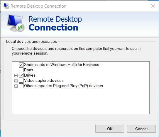 Remote Desktop More